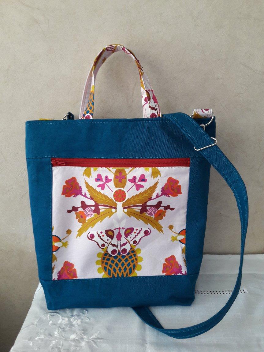 Un sac pour l'été: Finley Tote de SotakHandmade